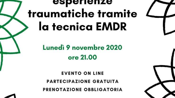 """Evento: """"L'elaborazione delle esperienze traumatiche tramite la tecnica EMDR"""""""